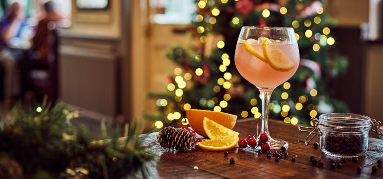 Deck the halls with festive cocktails